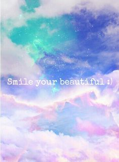 Smile your beautiful♡
