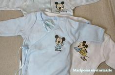 Mariposas en el armario: Mi bolsa del bebé para el hospital.