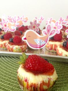 Strawberry cheesecake:D