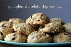 eighteen25: pumpkin chocolate chip cookies