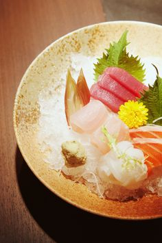 One of my favorite dishes...sashimi