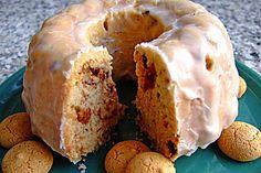 Kleiner Eiweiß-Gugelhupf mit Schokolade und Amarettini I Foods, Muffin, Breakfast, Cakes, Oven, Food Portions, Schokolade, Food Food, Cake