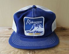 8a460b58985a1 Details about Vintage 80s FORD MOTORSPORT Corduroy   Mesh Red Trucker Hat  Snapback Cap K Brand