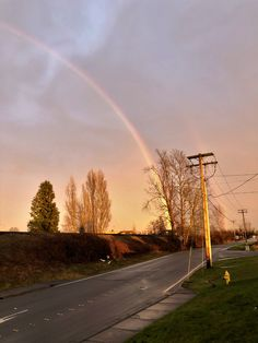 rainbows on main street - Google Search I Love Thunderstorms, Main Street, Be Perfect, Rainbows, Lightning, Maine, Country Roads, Sky, In This Moment