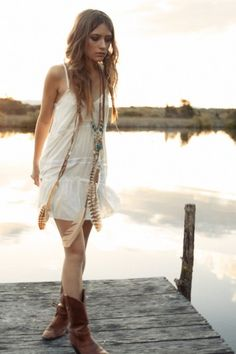 Field of Daisies Sun Dress - Spell Designs - come warmer months!