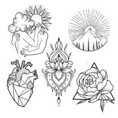 Le plus récent Aucun coût Tatouage croquis Concepts Palm Size Tattoos, Small Tattoos, Flower Tattoos, Tattoo Sketches, Tattoo Drawings, Halloween Tattoo Flash, Tattoo Und Piercing, Tattoo Collection, Tattoo Flash Sheet
