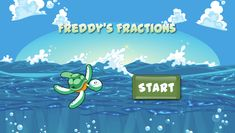 Freddy's Fractions | Math Chimp