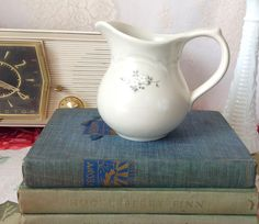 Vintage Pfaltzgraff Heirloom Pattern Creamer, Vintage Creamers, Vintage Ceramic Ware, Retired Pfaltzgraff Patterns, Kitchenware, Tableware by LakesideVintageShop on Etsy