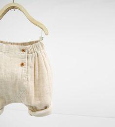 linen blend shorts (Zara), $19.90
