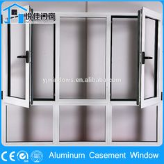 Home awnings aluminum casement window for home