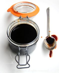 Balsamic vinegar reduction - Laylita's Recipes