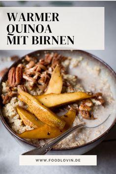 Leckerer #Quinoa-Brei mit Birnen: perfekt zum Frühstück!