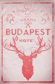 The Grand Budapest Hotel alternate poster.  Illustrated by ThunderDoam on Etsy.( I WANT THIS POSTER)