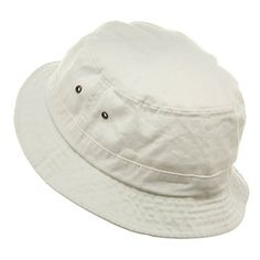 Washed Bucket Hat in White - Gilligan's Island #Halloween #costumes