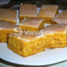 Mrkvová buchta Sweet Cakes, Cornbread, Banana Bread, Food And Drink, Yummy Food, Baking, Ethnic Recipes, Food Ideas, Millet Bread