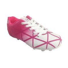 2281f5d851bb Xara Illusion FG Junior Kids Soccer Cleats  Kids Soccer Cleats (Pink)