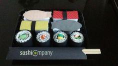 Sinterklaas surprise sushi