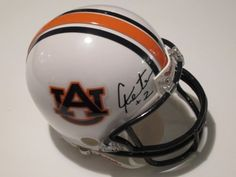 Cam Newton Heisman Signed Autographed Mini Helmet Auburn Tigers / Carolina Panthers Authentic Certified Coa by All-Star Sports Memorabilia. $99.99. Buying a great autographed mini helmet hand signed great piece to add with a collection. Comes with Coa and 100% satisfaction.
