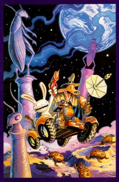 steve purcell  Sam and Max.
