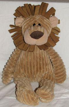 """GUND Lance the Lion Plush Peace Love Gund 17"""" Soft Free Shipping #GUND"""