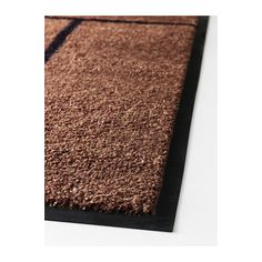 KÖGE Door mat IKEA Easy to keep clean - just vacuum, shake or rinse. Stays firmly in place with the rubber on the underside.