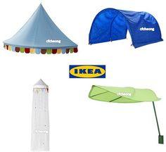 IKEA Children Bed Canopy Tent 4 Styles Mysig Lova Fabler Kura Kids Circus | eBay  sc 1 st  Pinterest & IKEA Kids Children Circus Tent Wall Canopy | Circus Nursery ...