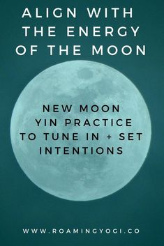 Moon Yoga Practice: Yin to Tune in + Set Intentions Learn about the phases of the moon and set new moon intentions for the coming lunar phase.Learn about the phases of the moon and set new moon intentions for the coming lunar phase. Different Types Of Yoga, Yoga At Home, Restorative Yoga, Free Yoga, Yoga For Weight Loss, Yoga For Beginners, Beginner Yoga, Advanced Yoga, Yin Yoga