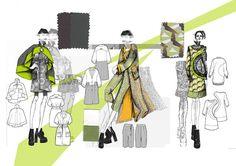 Line up 1 Fashion Portfolio Layout, Fashion Design Sketchbook, Fashion Sketches, Portfolio Web, Fashion Design Universities, Sketchbook Layout, Logos Retro, Illustration Techniques, Fashion Vocabulary