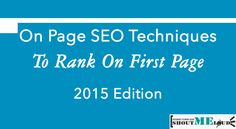 Learn On Page SEO secrets which will make copywriting more search engine friendly. Learn what's working in Keyword optimization in Internet E, Internet Marketing, Online Marketing, Digital Marketing, Seo Optimization, Search Engine Optimization, Seo Techniques, On Page Seo, Seo Sem