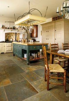 california gold slate floor | mountain vineyard home | pinterest