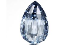 Geneva witnessed another record-setting sale. A 10.48-carat fancy deep blue briolette-shaped diamond sold for $ 10.9 million at Sotheby's on Wednesday, setting two world auction records.