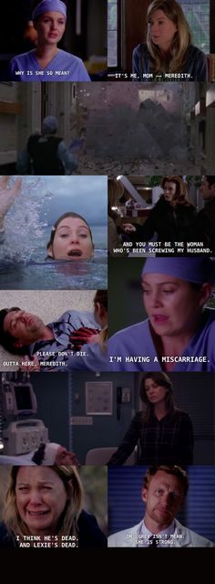Dr. Grey isn't mean...she's strong. Greys Anatomy.