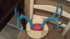 Deer Antler Jewelry Wall Holder by DowntownCowgurlShop on Etsy, $38.00