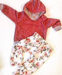 Baby girl clothing / baby / baby girl hoodie / by BornApparel