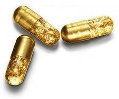 La pillola a 24 carati per cagate dorate