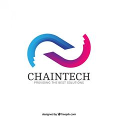 Abstract chain logo Premium Vector