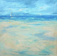 Sandy Point by Lisa Ridaboc,k Oil