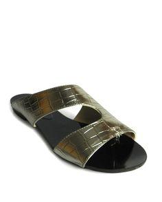 RASTEIRA ABERTA PRATA VELHO |Bella Bella Shoes
