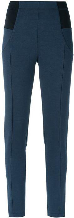 Tufi Duek high waist skinny trousers