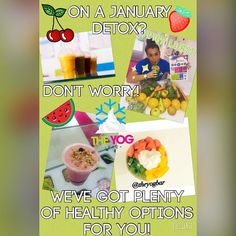 Make sure you come and see us this week.... Even if you're on the dreaded 'January Detox' diet!  If it's not a FroYo you're after why not try one of our fresh raw juices packed full of nutrients as we send through our professional masticating  slow juicer all the fruit & veg you require! Or maybe try one of our fat free Natural Greek Yogurts and load it with berries which are full of antioxidants and top with agave syrup! If neither of those take your fancy try a breakfast smoothie! Complete…