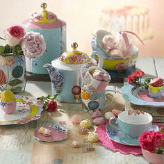 Buy PiP Studio Royal Tea Cup & Saucer, Limited Edition from our Cups & Saucers range at John Lewis & Partners. Free Delivery on orders over Pip Studio, Tea Cup Saucer, Tea Cups, Royal Tea, Dinnerware Sets, Jar Storage, High Tea, Afternoon Tea, Color Splash