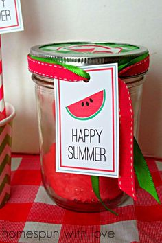 DIY Watermelon Play Dough! Great kids activity for this summer!