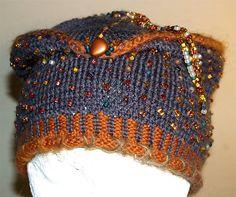 Ravelry: Beaded Pillbox Hat pattern by Nadia Severns