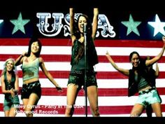 ▶ Miley Cyrus - Party In The USA + Lyrics Music Video Britney Jay Z Song - YouTube