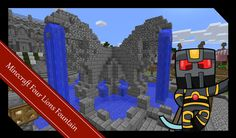 Minecraft Medieval Builds - City Fountain Tutorial - How to Build a Medi...