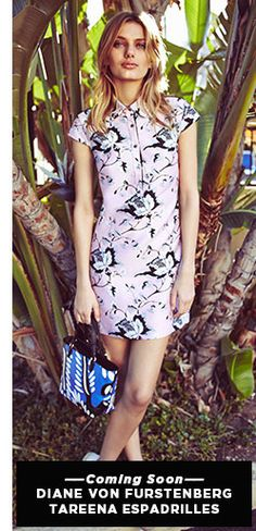 Diane von Furstenberg Spring 2015 - DVF Lace and Florals Lookbook | SHOPBOP
