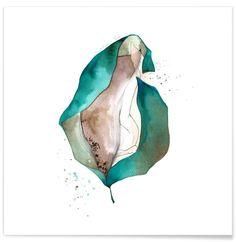 Flor as Premium Poster by Marina Guiu | JUNIQE