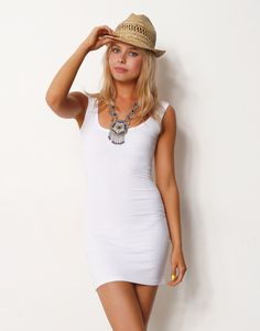 TIGHT FITTED DRESS - TIGHT FITTED BASIC DRESS - Casual Dresses ...