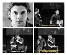 Hahaha Jensen!