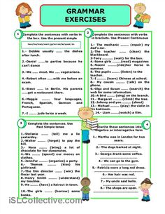 GRAMMAR EXERCISES worksheet - Free ESL printable worksheets made by teachers
